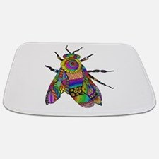 Painted Bee Bathmat