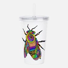 Painted Bee Acrylic Double-wall Tumbler
