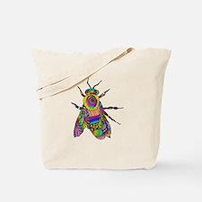 Painted Bee Tote Bag