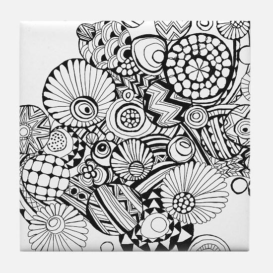 Sketch 1 Tile Coaster
