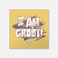 "GOTG Comic I am Groot Square Sticker 3"" x 3"""