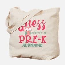 Preschool Shirts for Girls Personalized Tote Bag