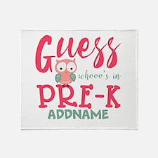 Preschool Shirts for Girls Personali Throw Blanket
