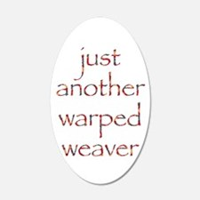 warpedbright.png Wall Decal