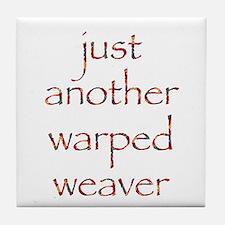 warpedbright.png Tile Coaster