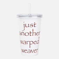 warpedbright.png Acrylic Double-wall Tumbler