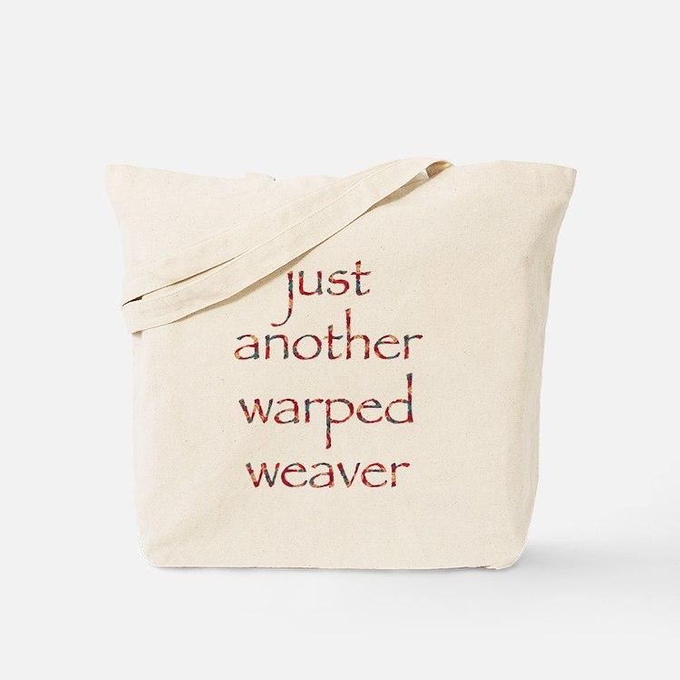 warpedbright.png Tote Bag