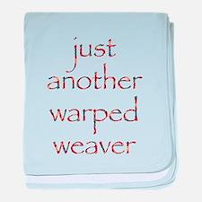 warpedbright.png baby blanket