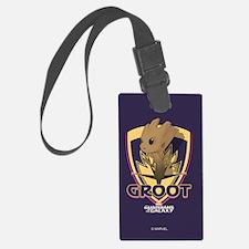 GOTG Baby Groot Emblem Luggage Tag