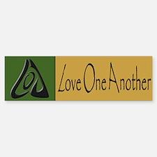 Love One Another Bumper Bumper Bumper Sticker