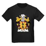 Alzate Family Crest Kids Dark T-Shirt