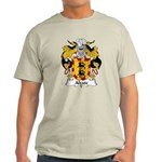 Alzate Family Crest Light T-Shirt