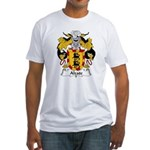 Alzate Family Crest Fitted T-Shirt