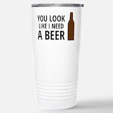 Funny Mens fitness Travel Mug