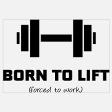 Funny Weightlifting womens Wall Art