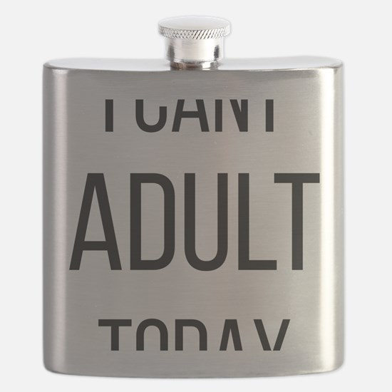 Funny Weightlifting womens Flask