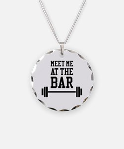 Cute Weightlifting Necklace