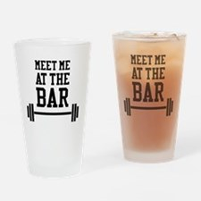 Unique Weightlifting Drinking Glass