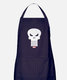 Punisher Skull Apron (dark)