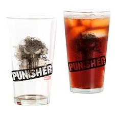 Punisher Grunge Drinking Glass