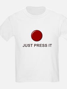 Big Red Button T-Shirt