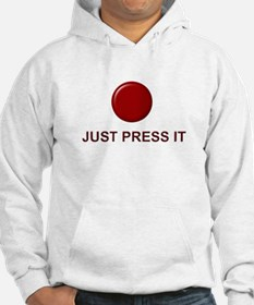 Big Red Button Hoodie