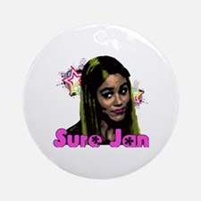 Sure Jan Round Ornament