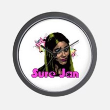 Sure Jan Wall Clock