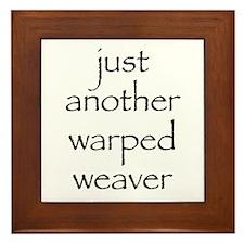 warped.png Framed Tile