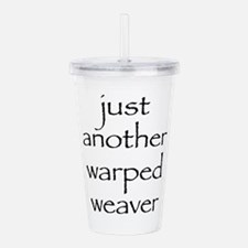 warped.png Acrylic Double-wall Tumbler
