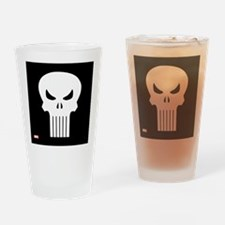 Punisher Skull Drinking Glass