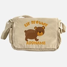 Perssonalized Bear Little Brother Messenger Bag