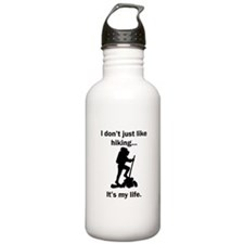 Hiking Its My Life Water Bottle