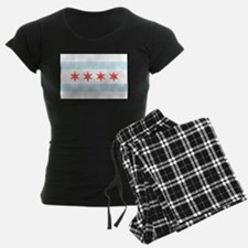 Damask Chicago Flag Pajamas