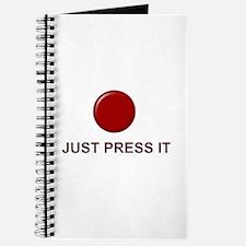 Big Red Button Journal