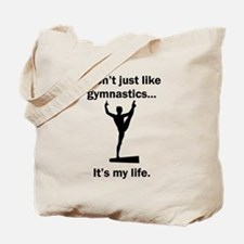 Gymnastics Its My Life Tote Bag