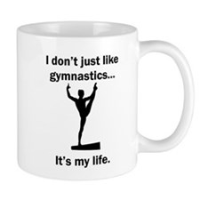 Gymnastics Its My Life Mugs