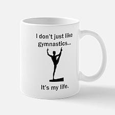 Gymnastics Its My Life Mugs
