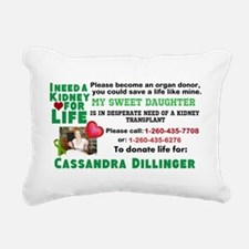 Strong Choice Rectangular Canvas Pillow
