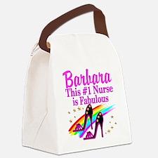 DAZZLING NURSE Canvas Lunch Bag