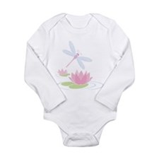 Cute Lilly Long Sleeve Infant Bodysuit