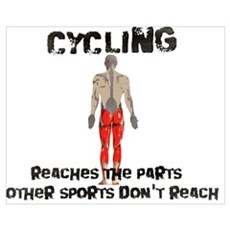 Cycling reaches the parts Poster