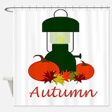 Autumn Lantern Shower Curtain