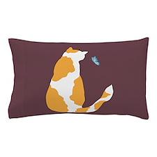 pinto bean kitty Pillow Case