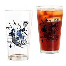 GOTG Baby I am Groot Grunge Drinking Glass