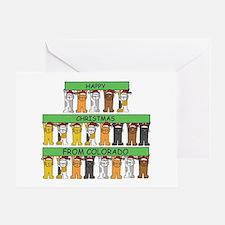 Cute Christmas colorado Greeting Card