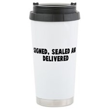 Unique To say Travel Mug