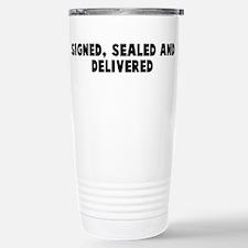 Quotation Travel Mug
