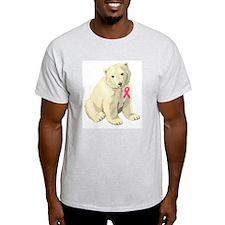Cute Mom pink ribbon T-Shirt