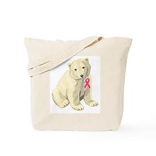 Cute Pink ribbon Tote Bag
